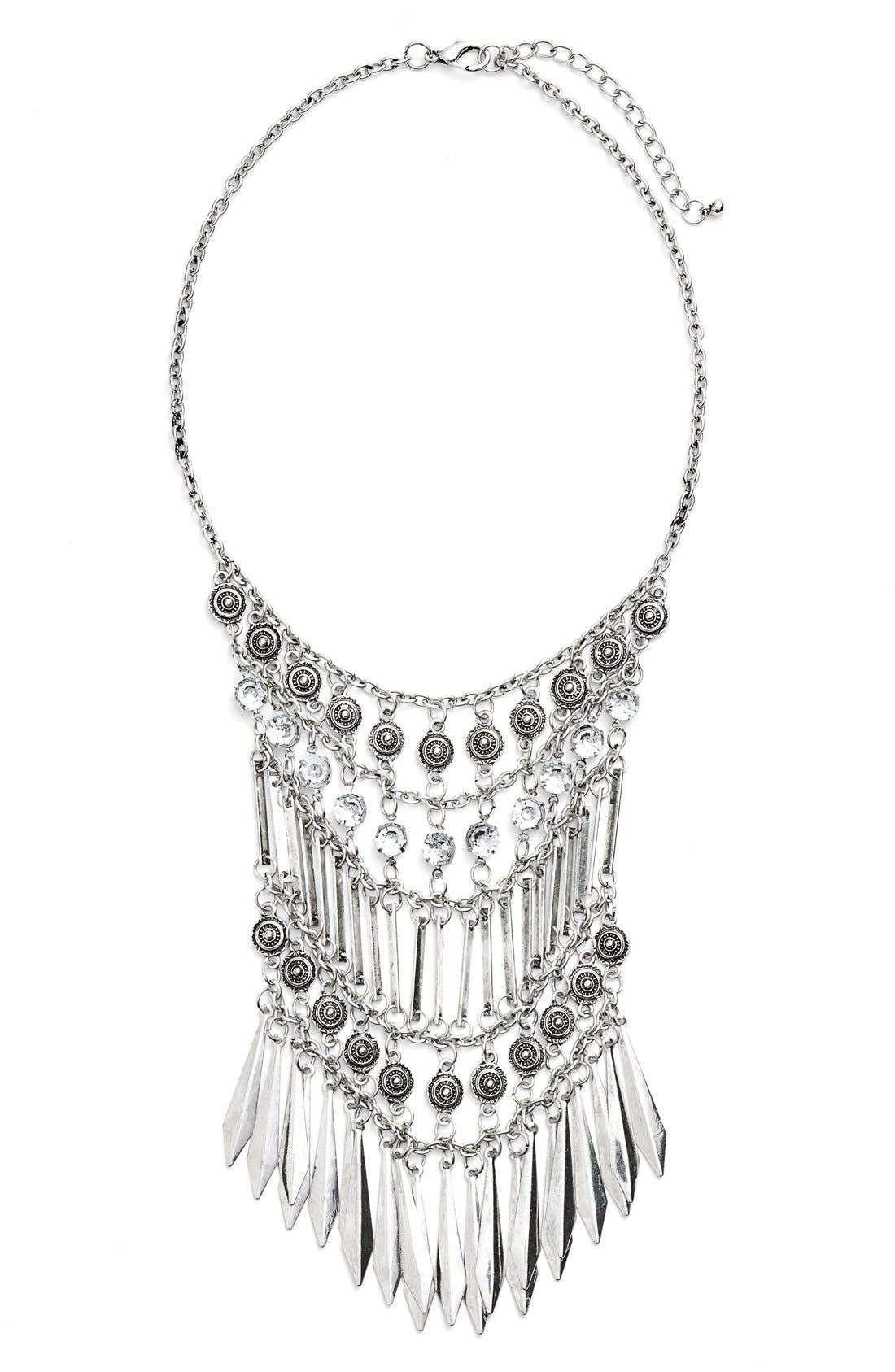 Alternate Image 1 Selected - BP. Crystal Statement Necklace