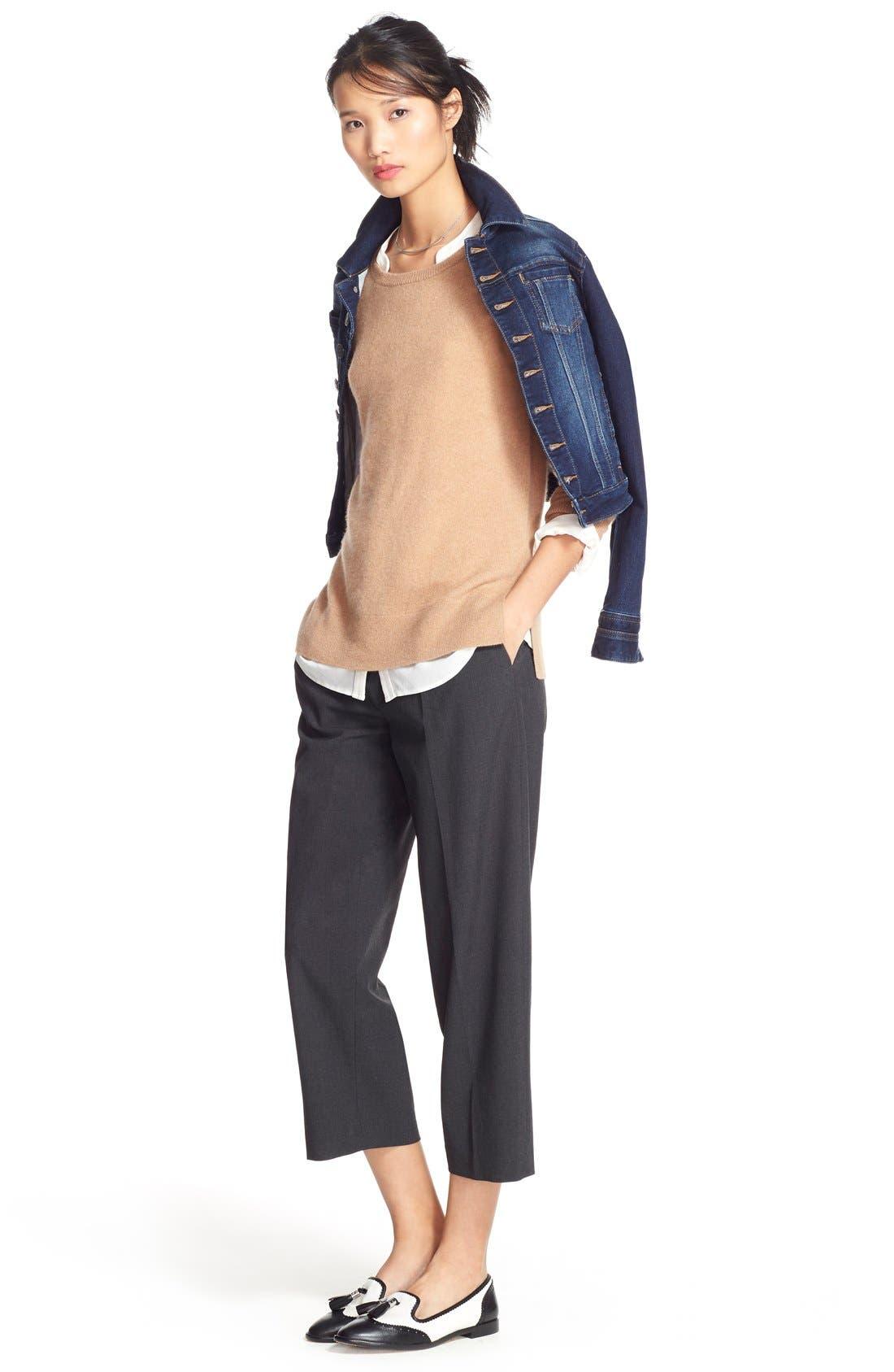 Alternate Image 6  - Jag Jeans 'Savannah' Knit Denim Jacket