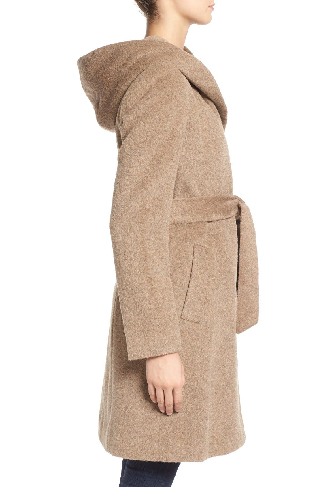 Alternate Image 3  - Cole HaanAlpaca & Wool Wrap Coat