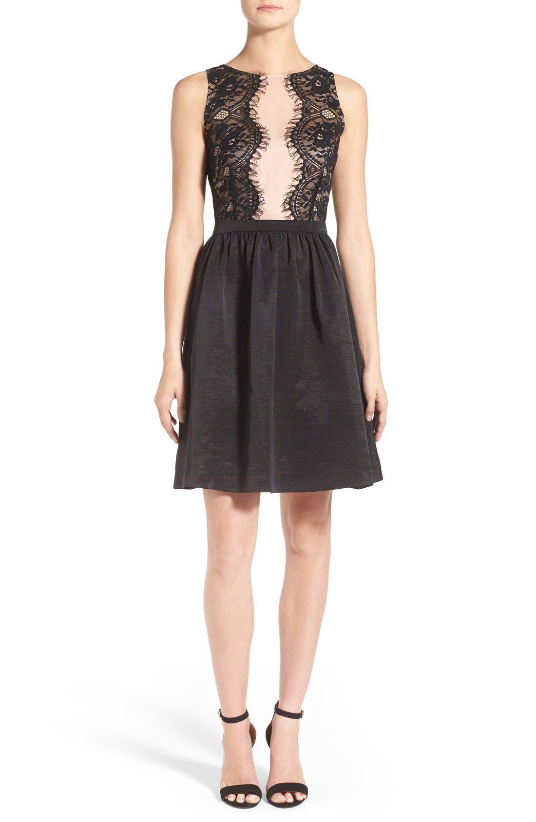 Main Image - Ivanka Trump Lace Dress