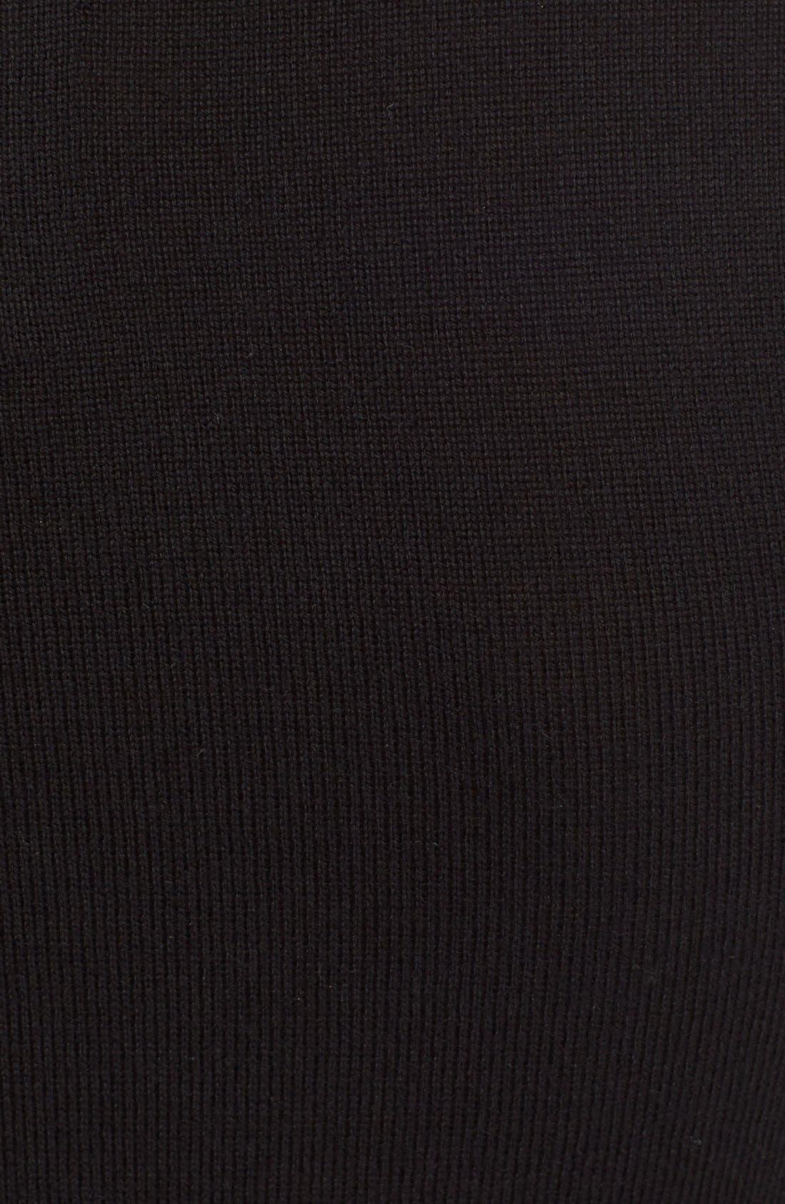 Alternate Image 5  - Alice + Olivia 'Porla' Embellished Collar Wool Pullover