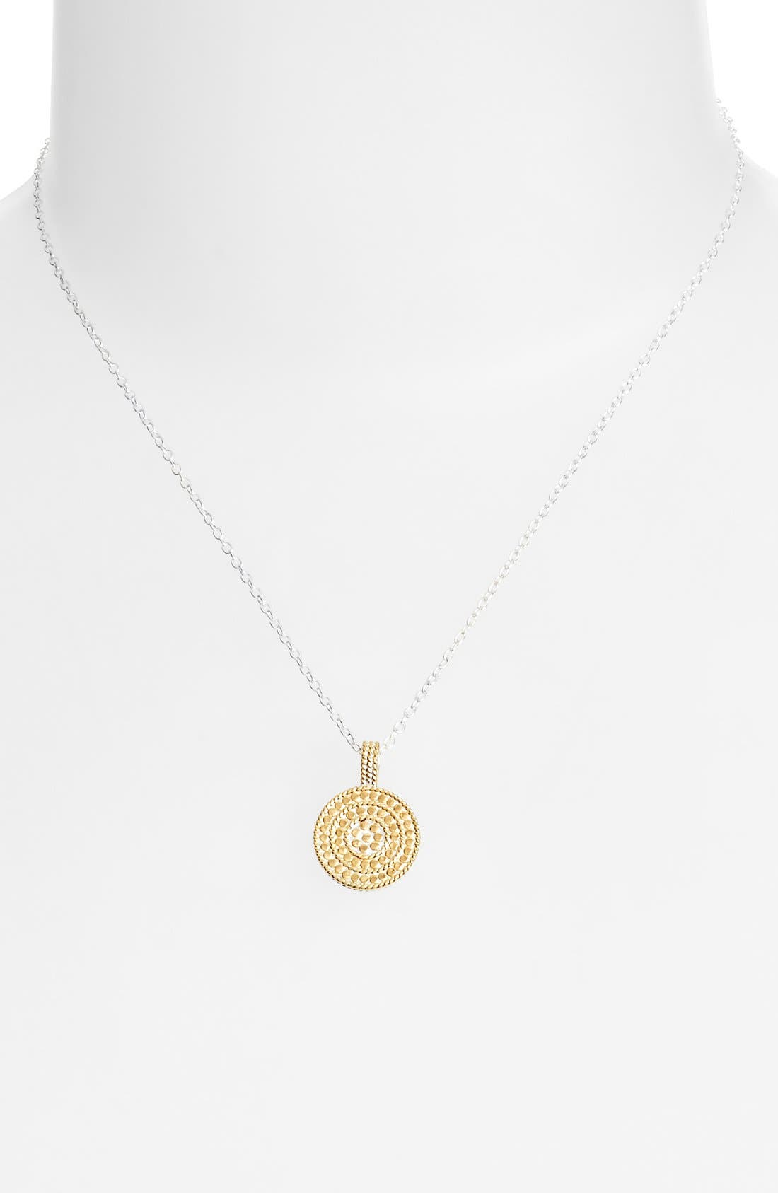 Alternate Image 2  - Anna Beck Jewelry That Makes a Difference Circle of Life Pendant Necklace