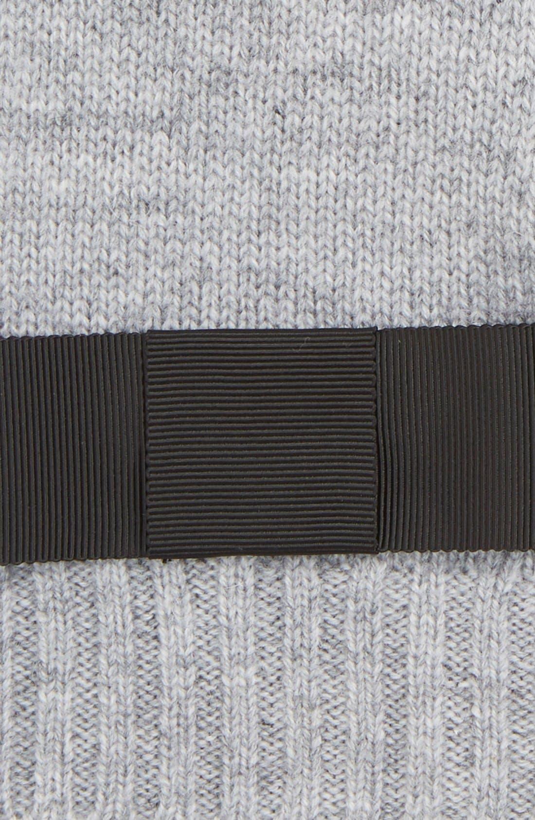 Alternate Image 3  - kate spade new york grosgrain bow knit tech gloves