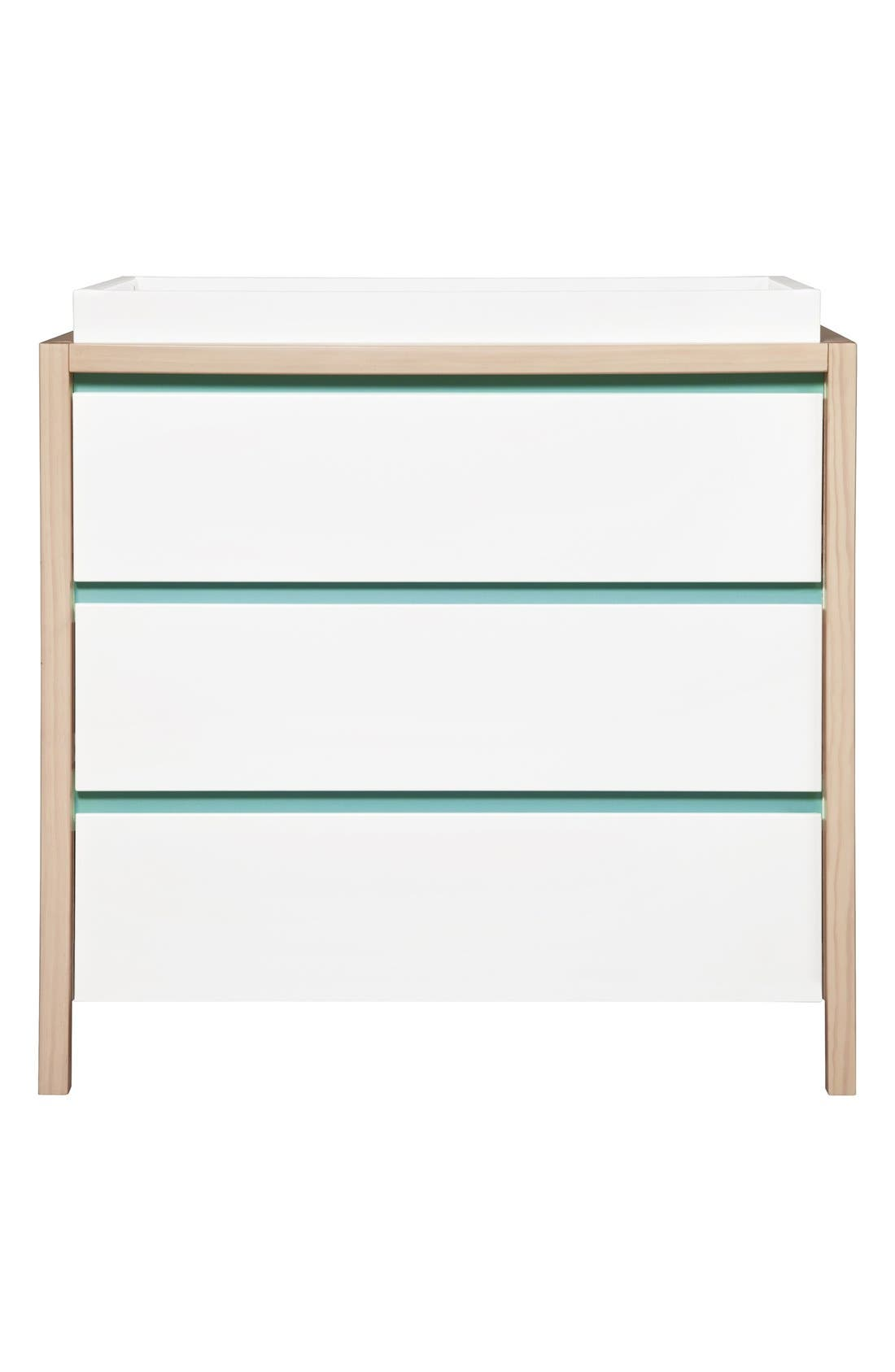 Alternate Image 1 Selected - babyletto 'Bingo' Three Drawer Changer Dresser