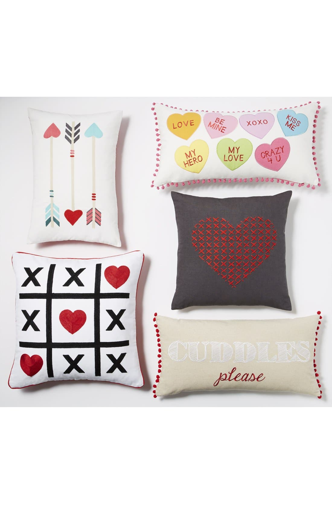 Alternate Image 3  - Nordstrom at Home 'Cross My Heart' Pillow