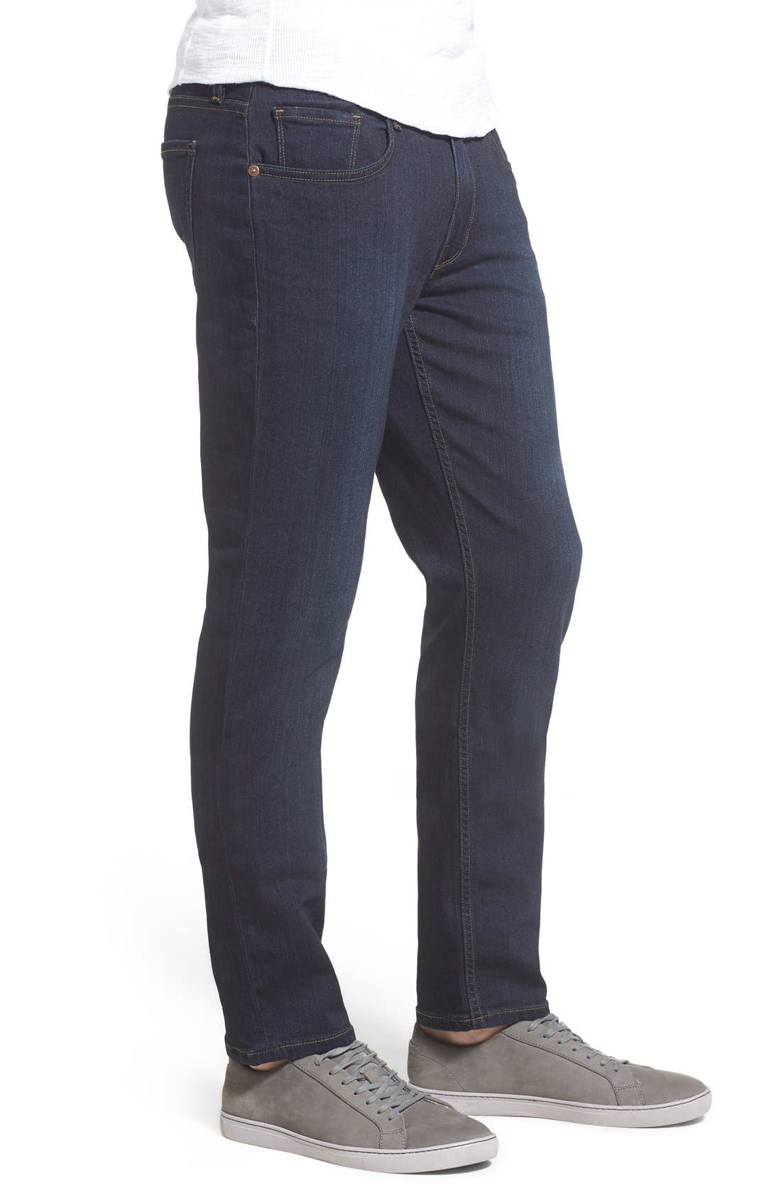 Alternate Image 3  - PAIGE Lennox Slim Fit Jeans (Cellar)