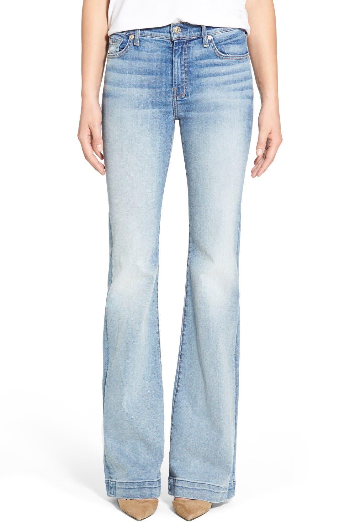 Alternate Image 1 Selected - 7 For All Mankind® 'Dojo' Wide Leg Jeans