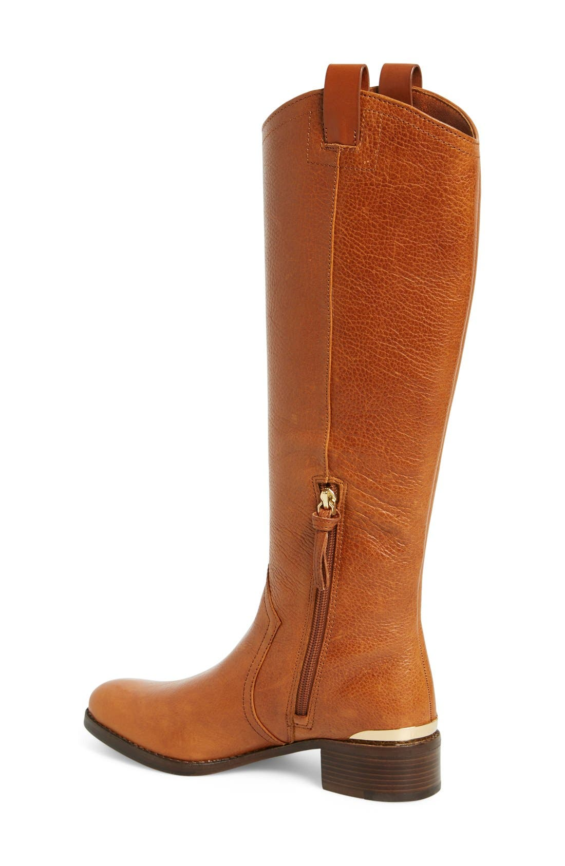 Alternate Image 2  - Louise et Cie 'Zada' Knee High Leather Riding Boot (Women) (Wide Calf) (Nordstrom Exclusive)