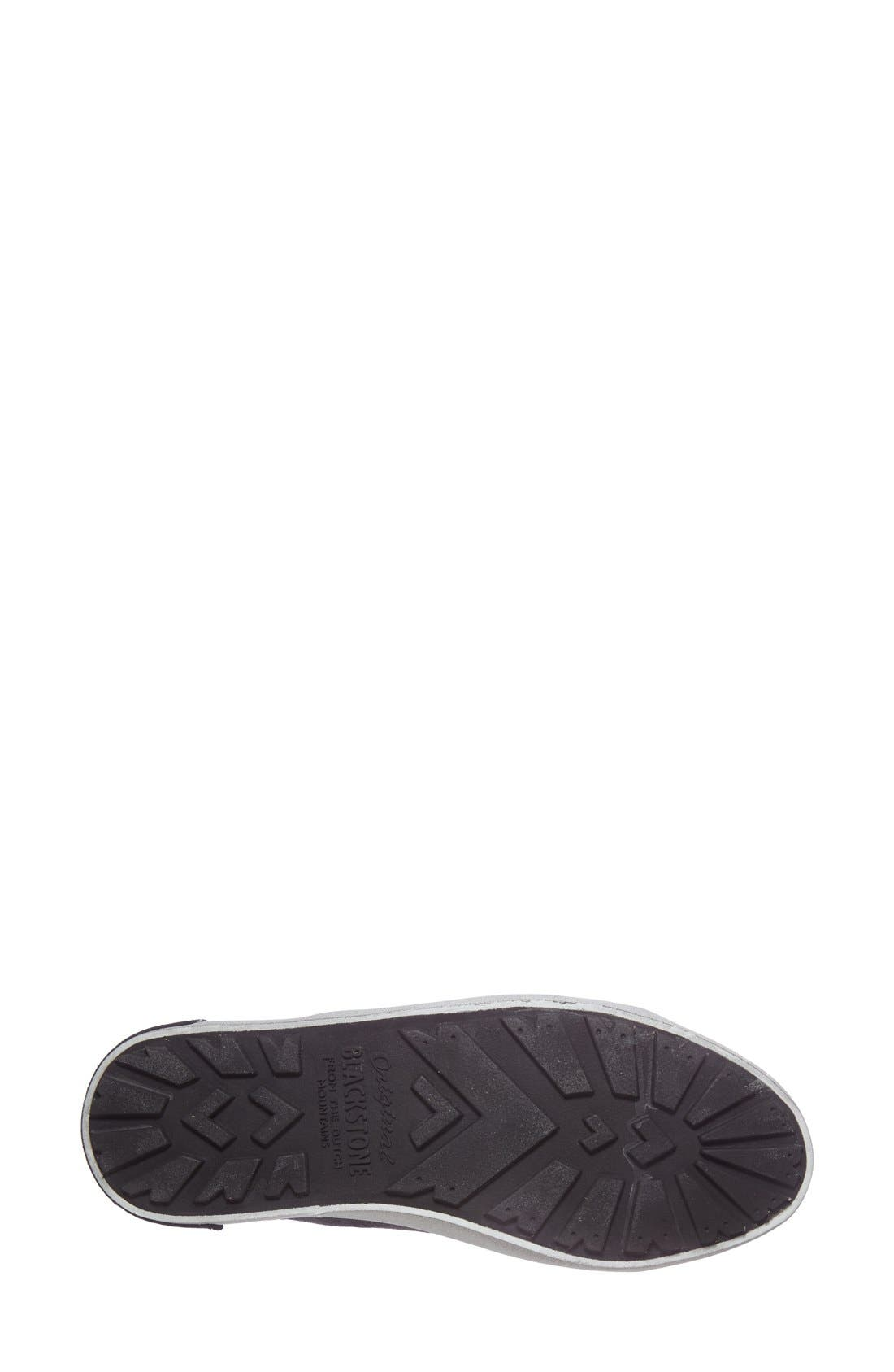 'KL57' High Top Sneaker,                             Alternate thumbnail 4, color,                             Caviar Black Leather