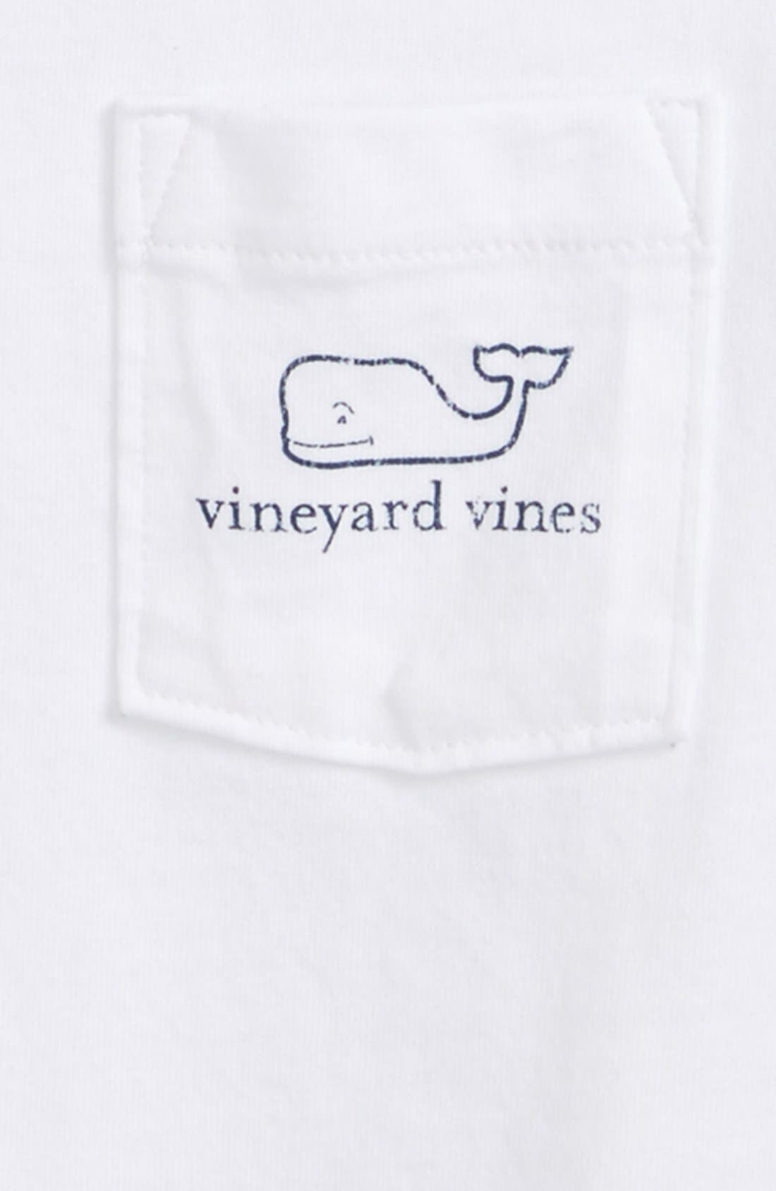 Alternate Image 3  - vineyard vines Vintage Whale Graphic Long Sleeve T-Shirt (Toddler Boys & Little Boys)