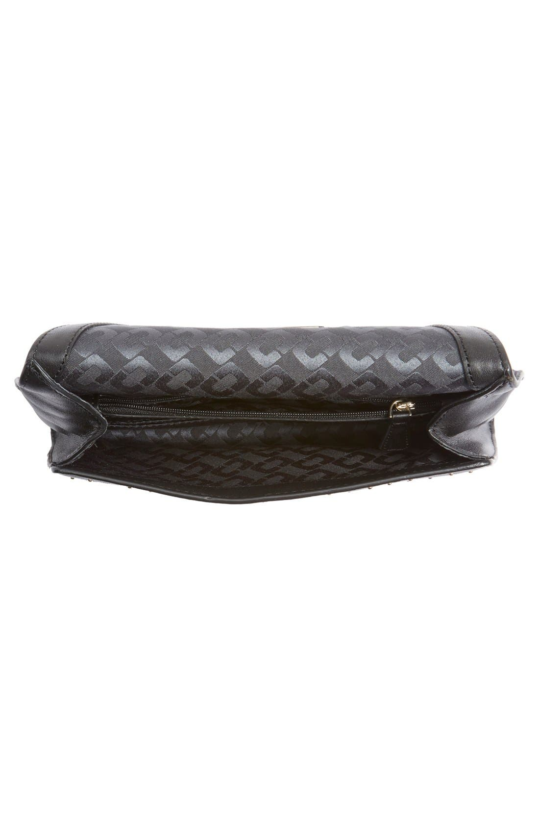 Alternate Image 4  - Diane von Furstenberg '440 Glory Uptown' Studded Leather Clutch