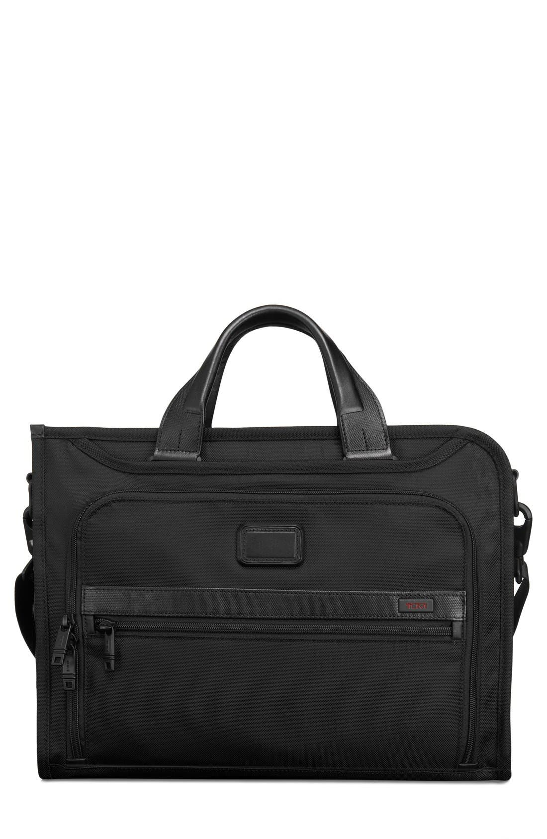 Alpha 2 - Slim Deluxe Portfolio,                         Main,                         color, Black
