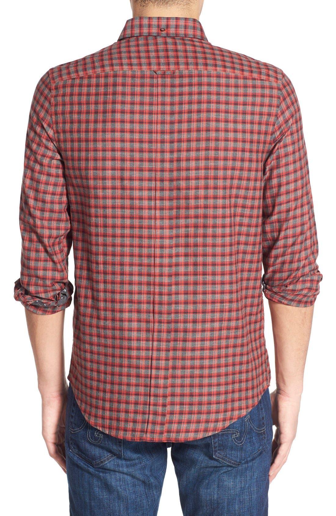 Alternate Image 2  - Ben Sherman Mod Fit Tartan Plaid Sport Shirt