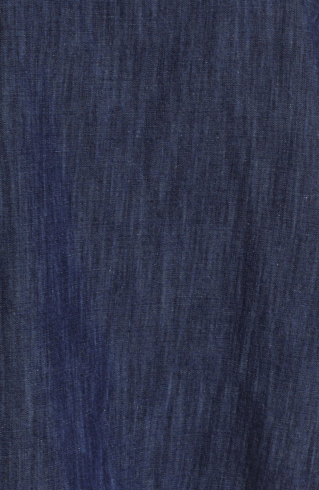 Alternate Image 3  - eskandarCotton & Linen Blouse