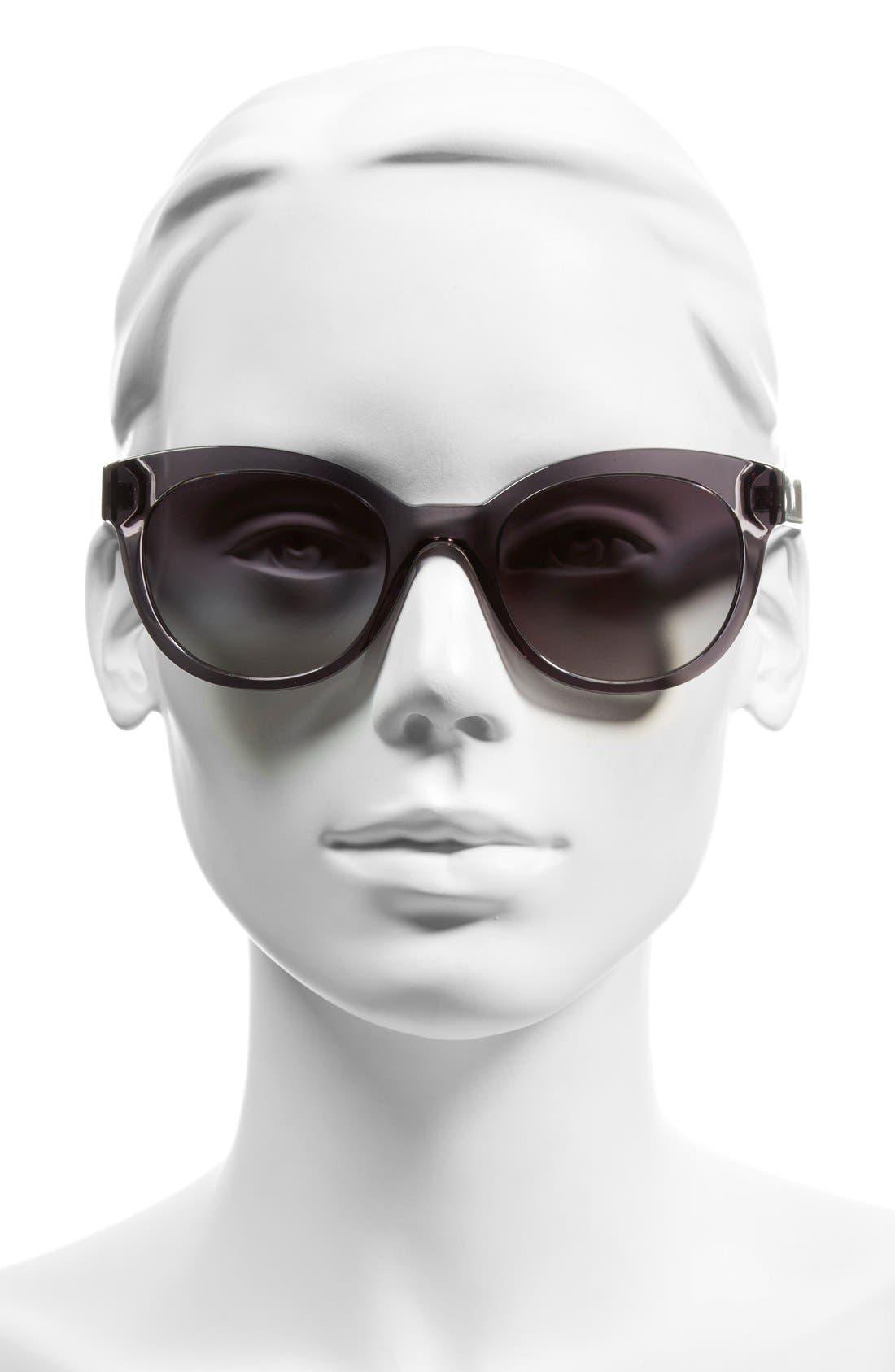Alternate Image 2  - Burberry 52mm Retro Sunglasses