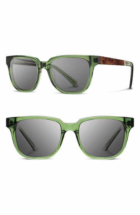b9a16ebacee Shwood  Prescott  52mm Acetate   Wood Sunglasses