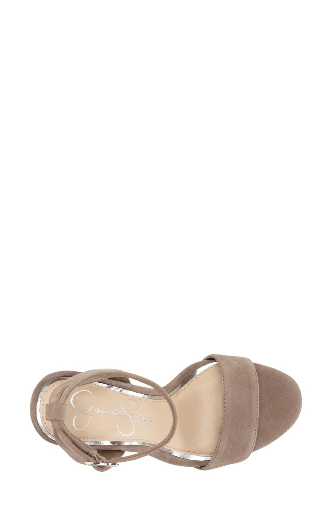 Alternate Image 3  - Jessica Simpson 'Banda' Embellished Platform Sandal (Women)