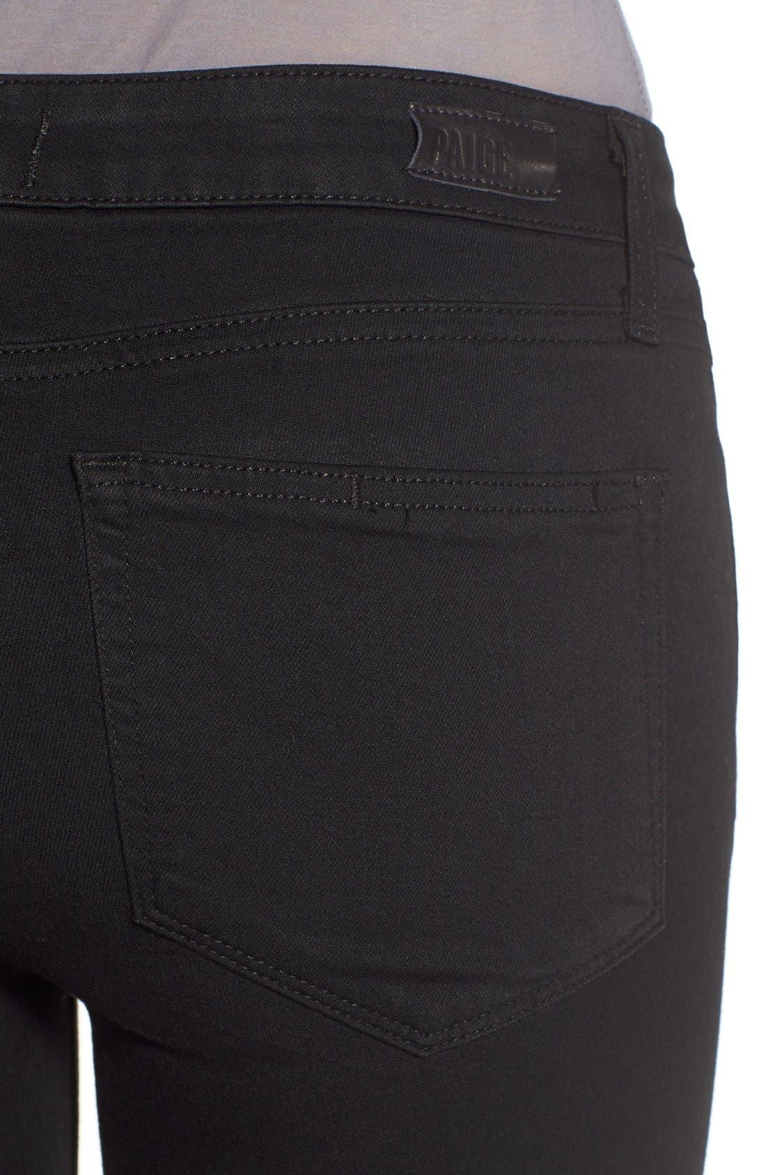 Alternate Image 4  - PAIGE Transcend - Verdugo Crop Skinny Jeans