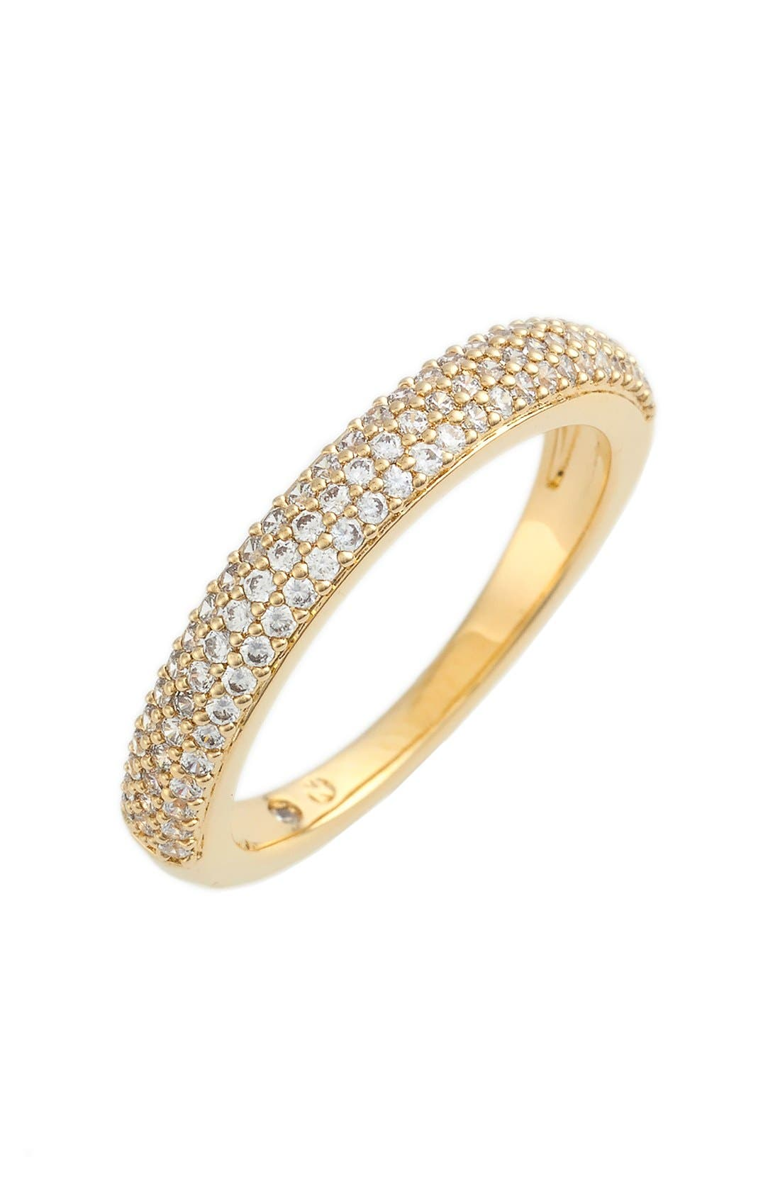 NADRI Stackable Pavé Cubic Zirconia Ring
