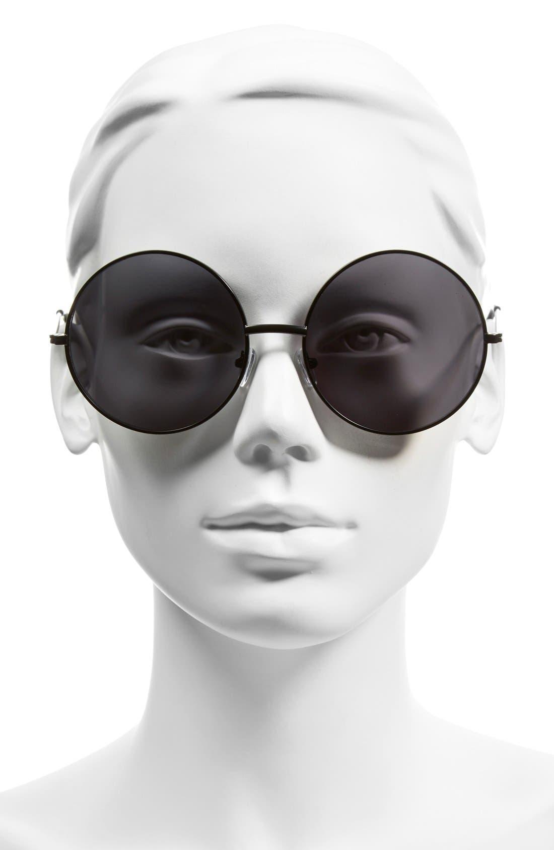 Alternate Image 2  - A.J. Morgan 'Moonies' 61mm Round Sunglasses