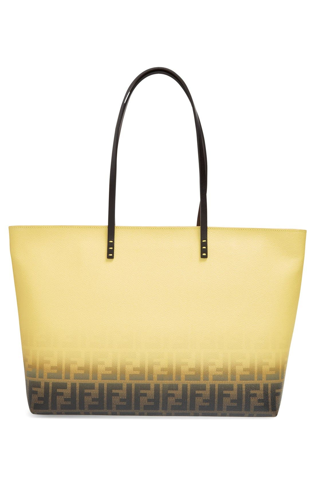 Alternate Image 3  - Fendi 'Medium Roll' Ombré Tote