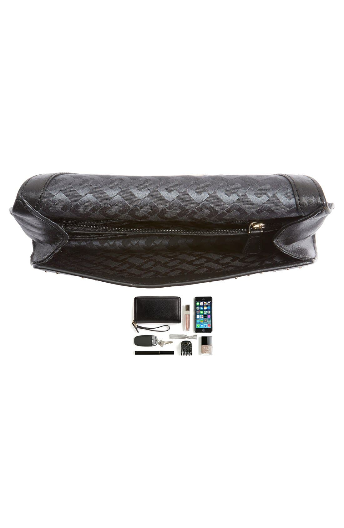Alternate Image 7  - Diane von Furstenberg '440 Glory Uptown' Studded Leather Clutch