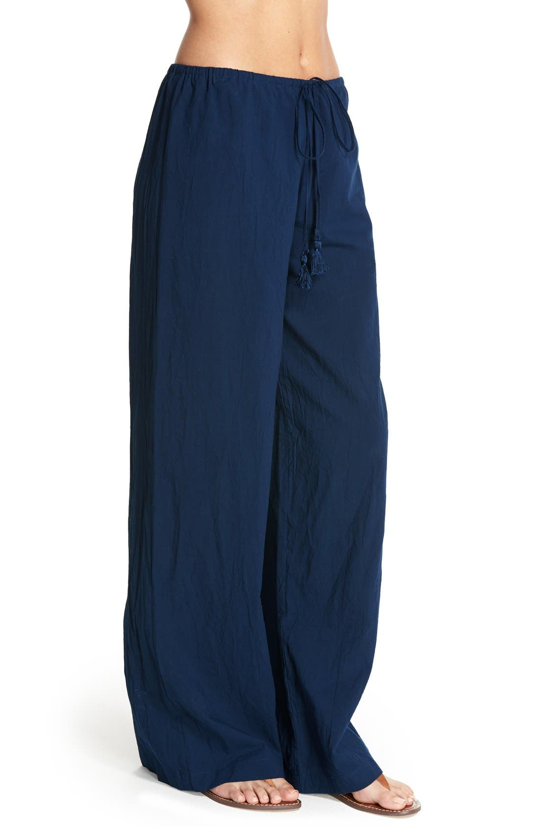 Cover-Up Pants,                             Alternate thumbnail 3, color,                             Mare Navy