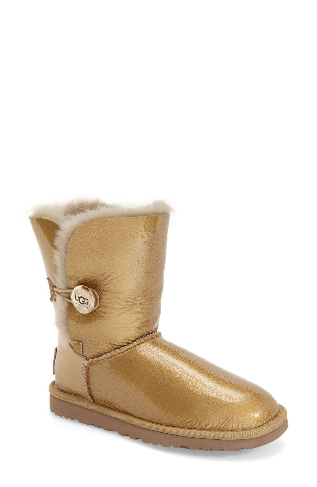 Alternate Image 1 Selected - UGG® 'Bailey Button - Mirage' Water Resistant Boot (Women)