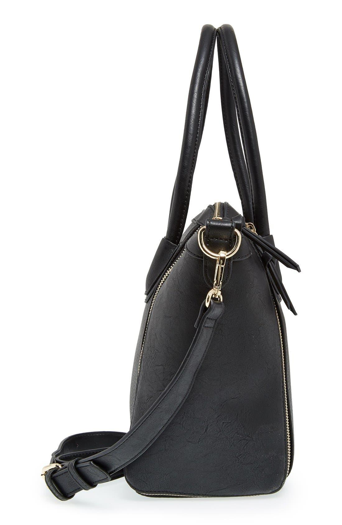 Alternate Image 5  - Sole Society 'Kaylen' Faux Leather Crossbody Satchel