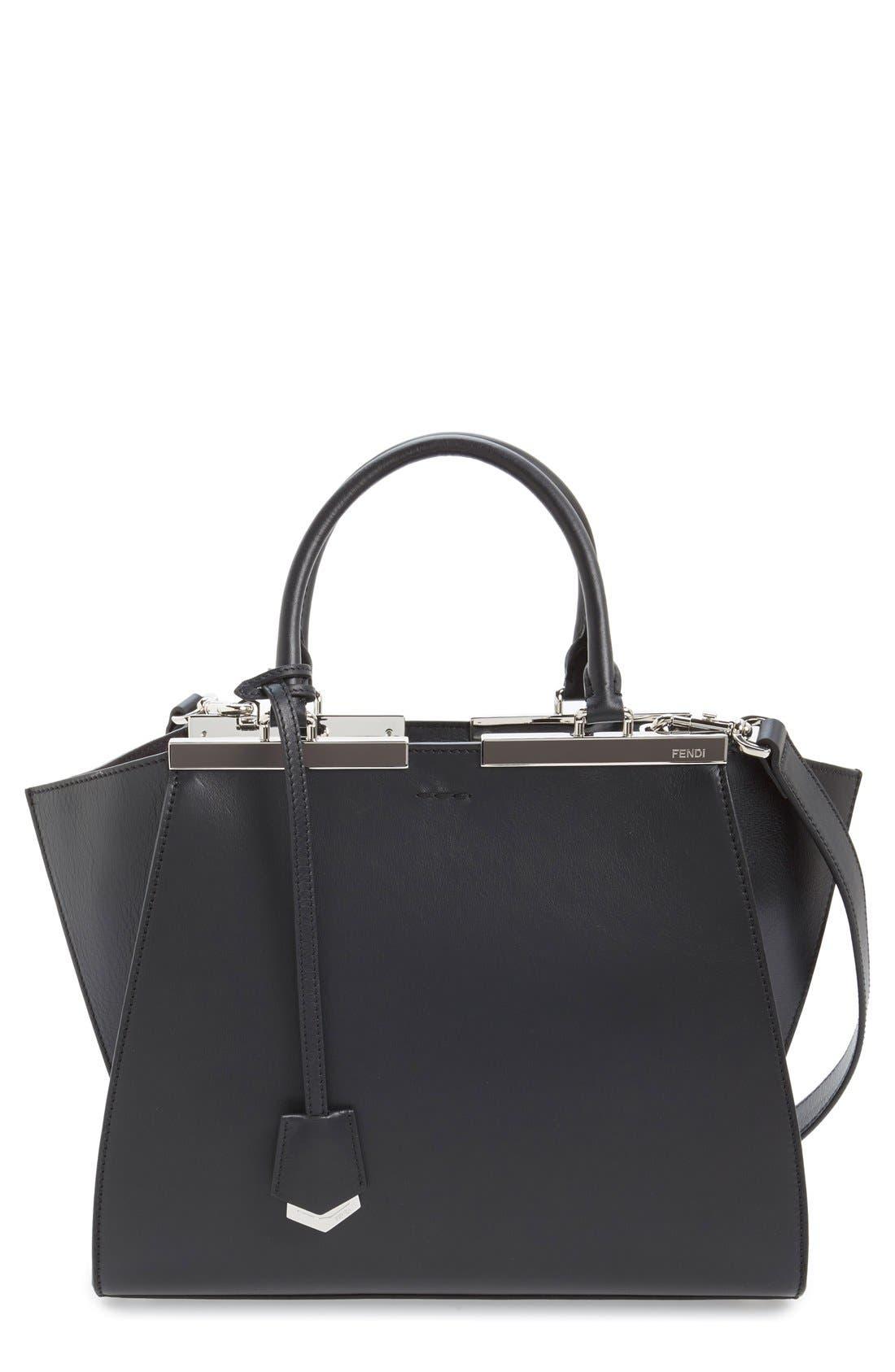9bc3671c509c where to buy fendi trois jour mini shopping tote bag black white 9a6c0 9f4aa