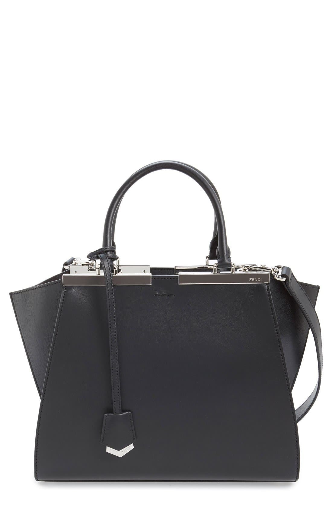 Alternate Image 1 Selected - Fendi '3Jours' Leather Shopper