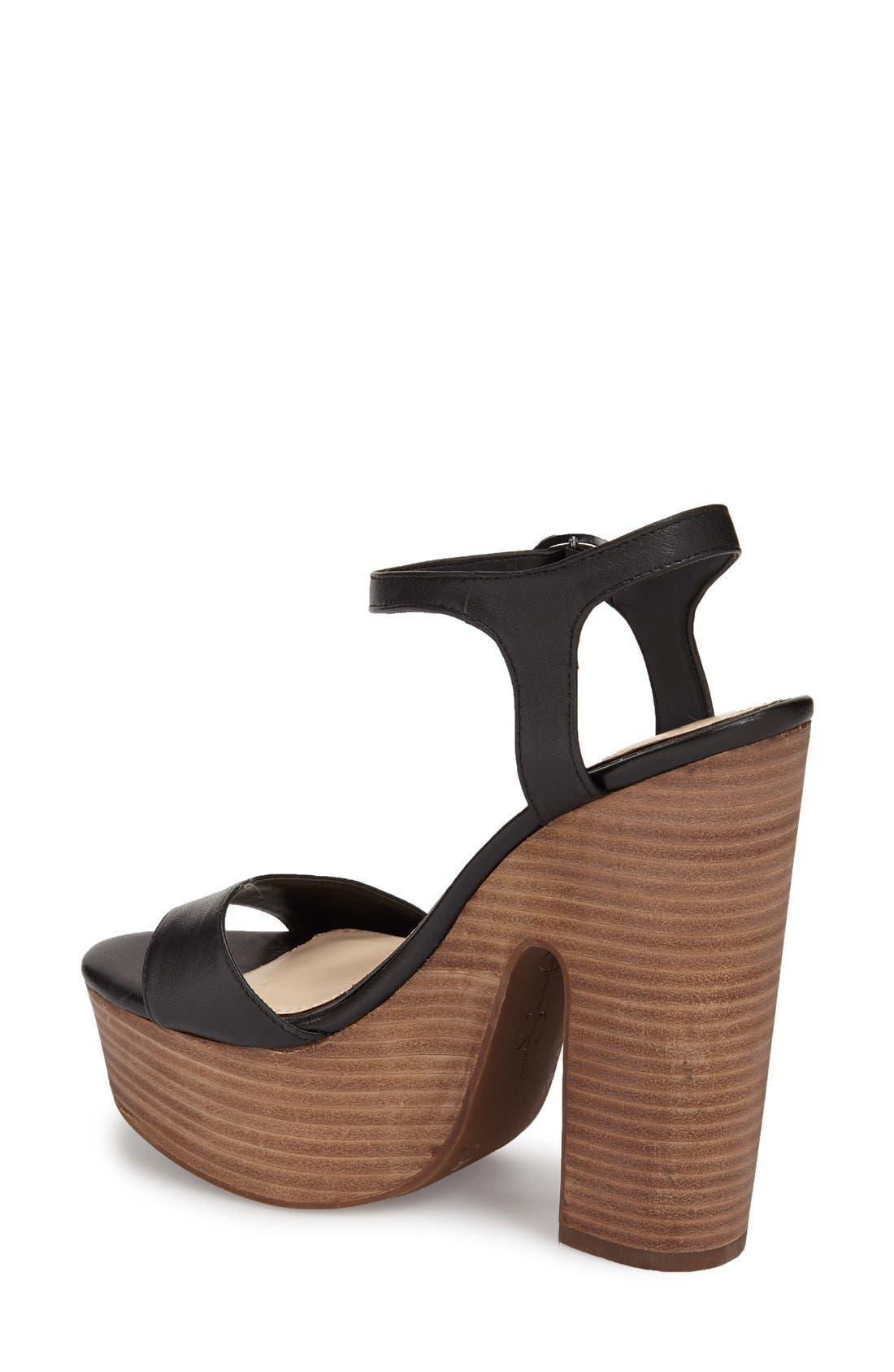 Alternate Image 2  - Jessica Simpson 'Whirl' Platform Sandal (Women)