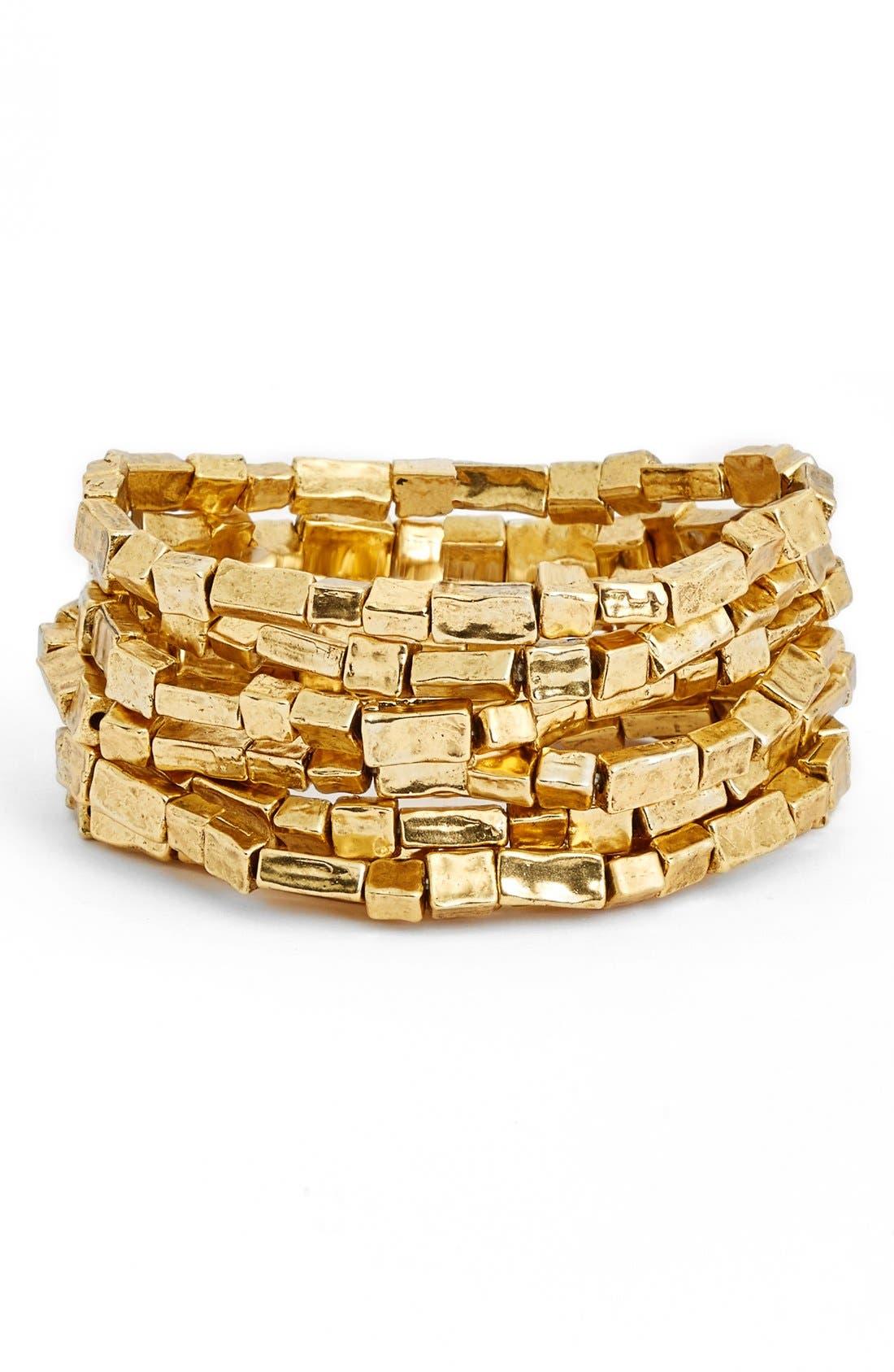 Alternate Image 1 Selected - Karine Sultan Bracelets (Set of 7)