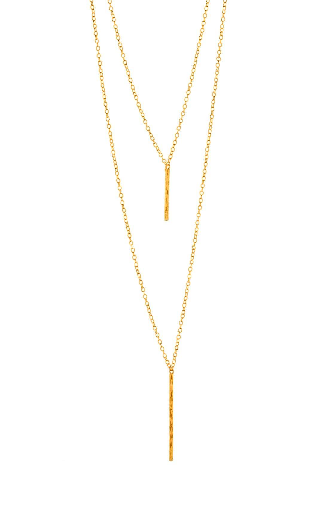 Alternate Image 1 Selected - gorjana 'Kiernan' Layered Pendant Necklace