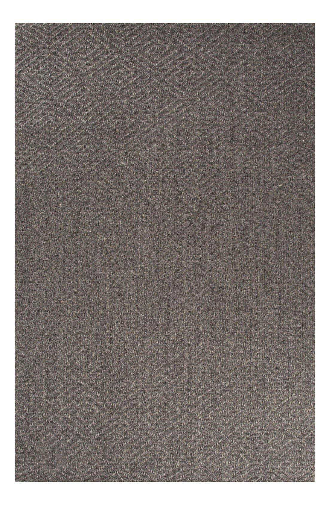 'Tobago Naturals' Hand Woven Rug,                         Main,                         color, Dark Grey