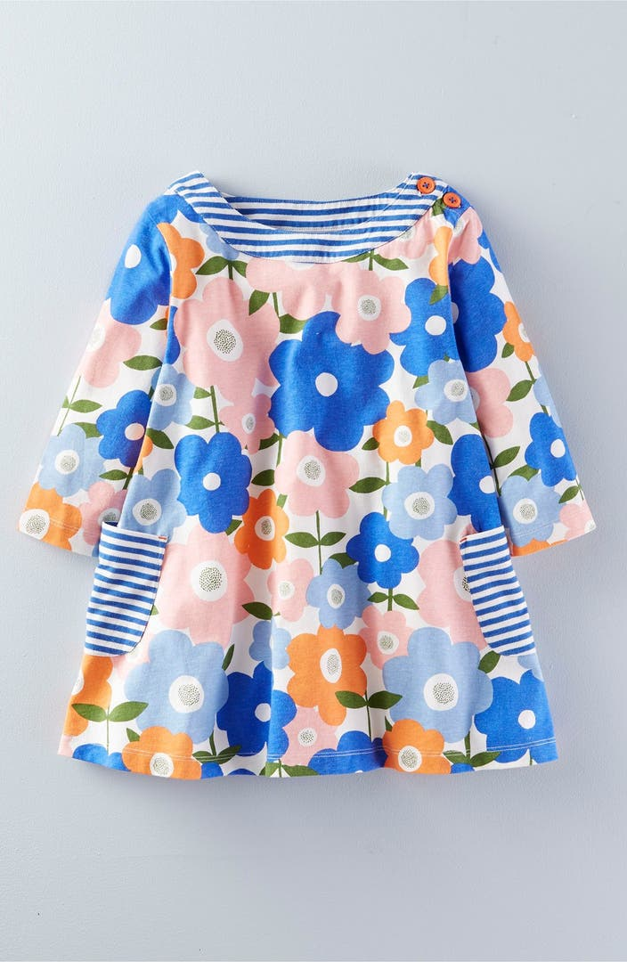 Mini boden print jersey tunic toddler girls little girls for Shop mini boden