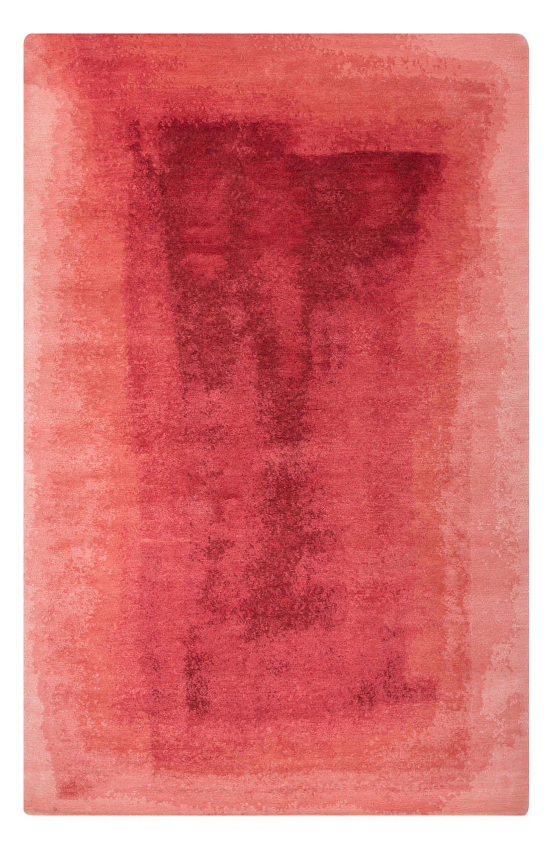 kate spade new york 'murray - abstract pattern' wool blend rug