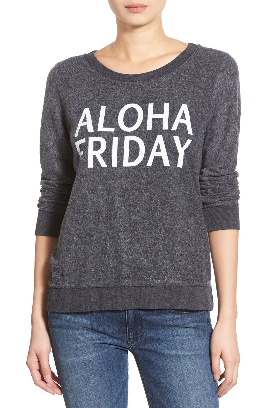 Alternate Image 1 Selected - Chaser 'Aloha Friday' Pullover Sweatshirt
