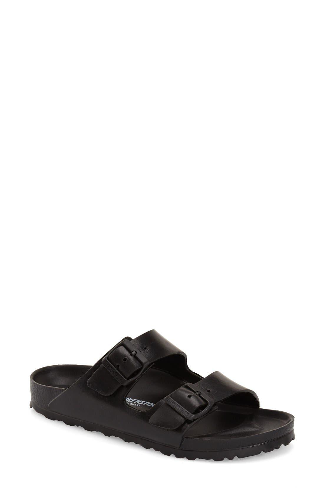 Main Image - Birkenstock Essentials - Arizona Slide Sandal (Women) (Nordstrom Exclusive)