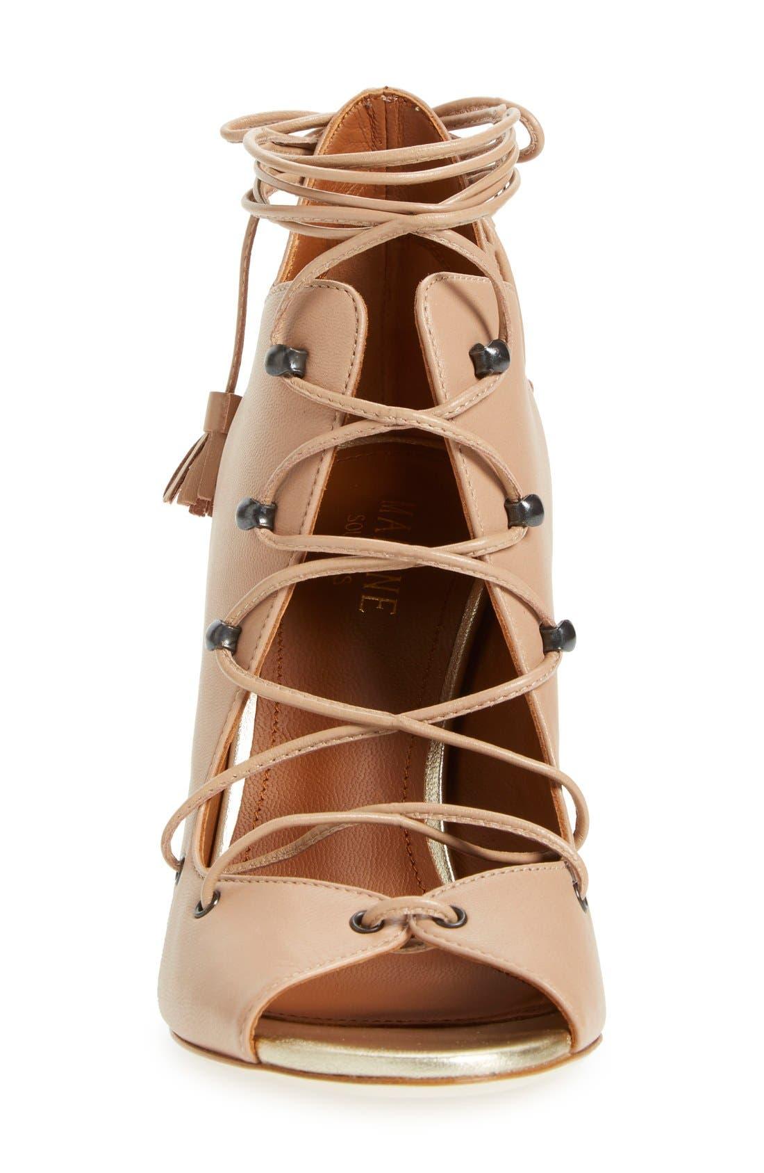 Alternate Image 3  - Malone Souliers 'Savannah' Lace-Up Sandal (Women)
