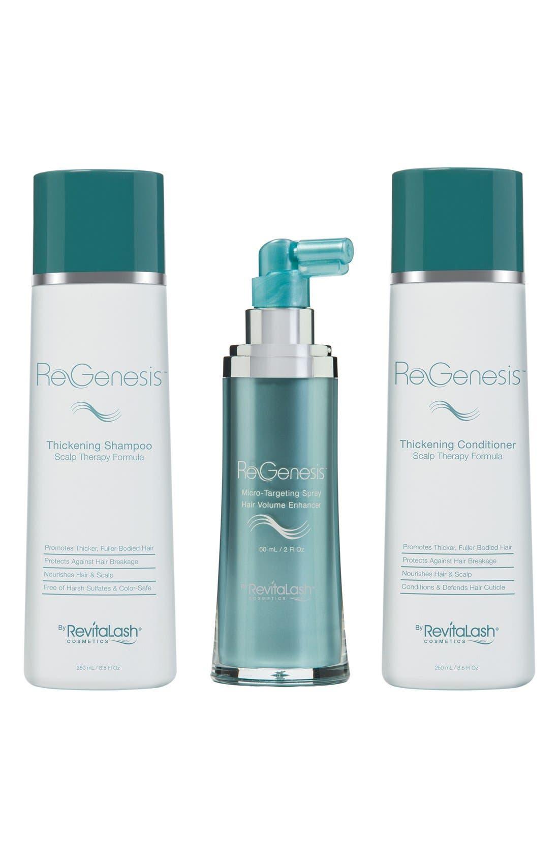 ReGenesis by RevitaLash® Total Care Fine & Thinning Hair Regimen Spray ($219 Value)