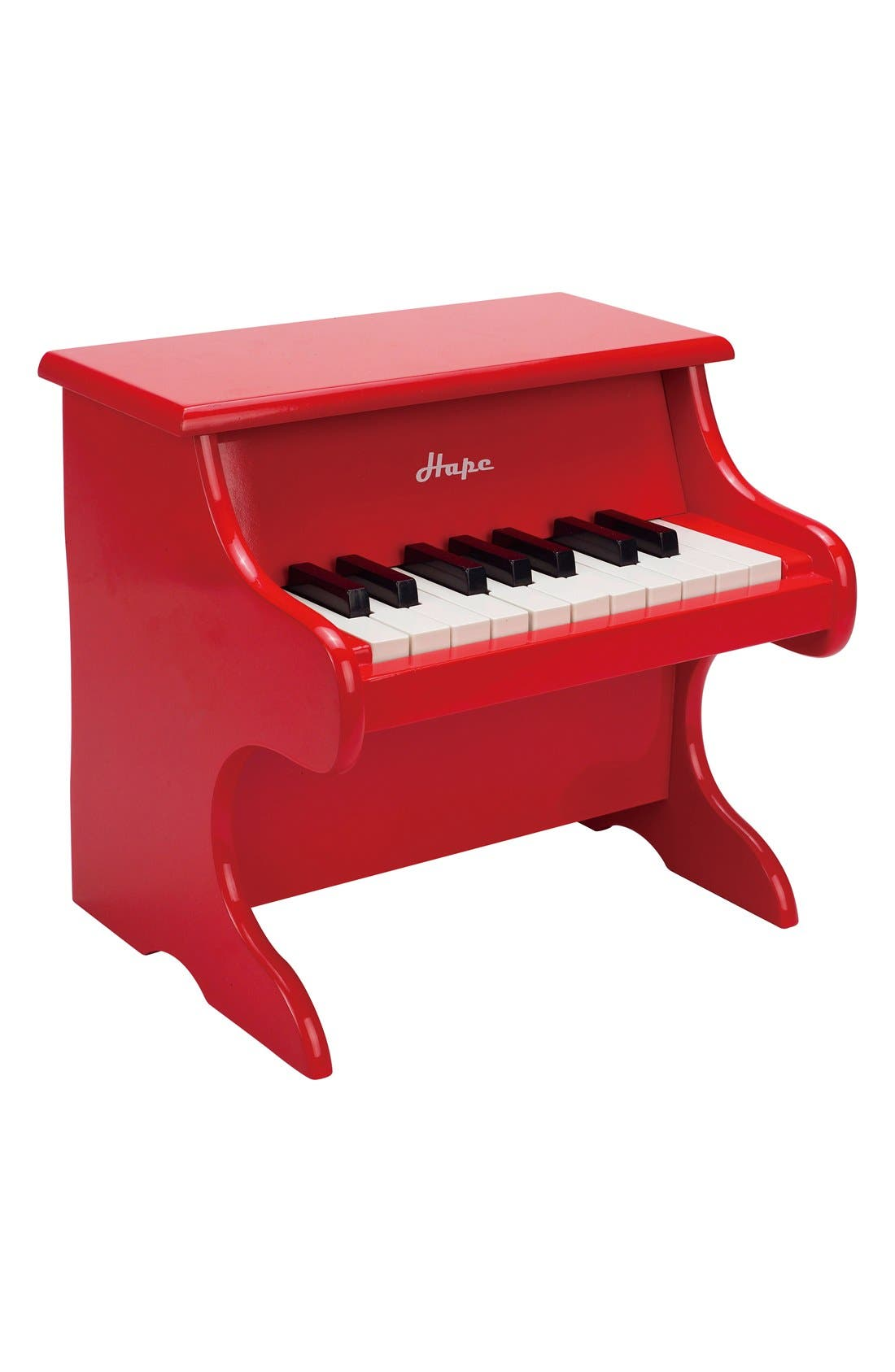 'Playful' Toy Piano,                             Alternate thumbnail 3, color,                             Red