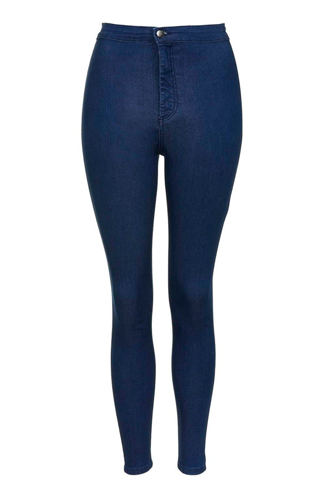 Alternate Image 4  - Topshop 'Joni' Super Skinny Jeans (Petite)