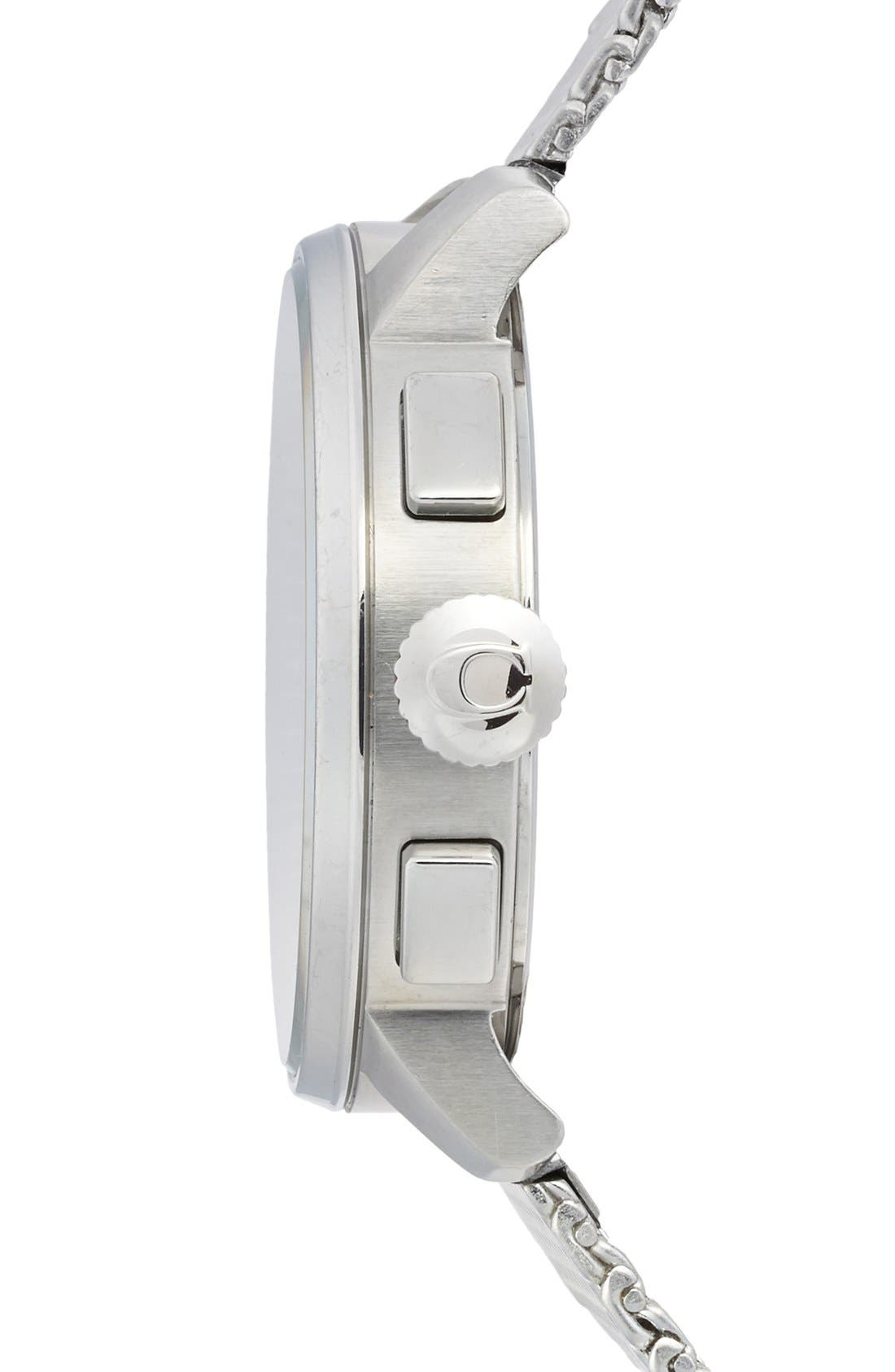 Alternate Image 3  - Coach 'Bleeker' Chronograph Mesh Strap Watch, 42mm