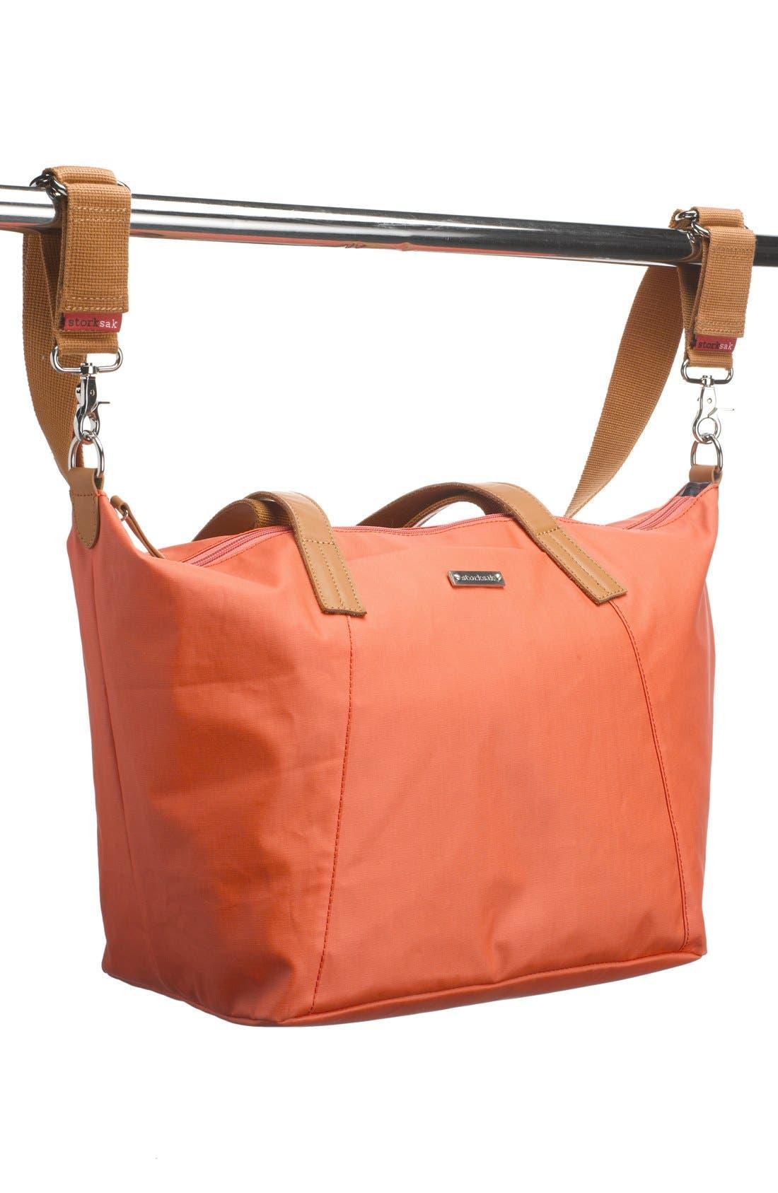 Alternate Image 7  - Storksak 'Noa' Diaper Bag