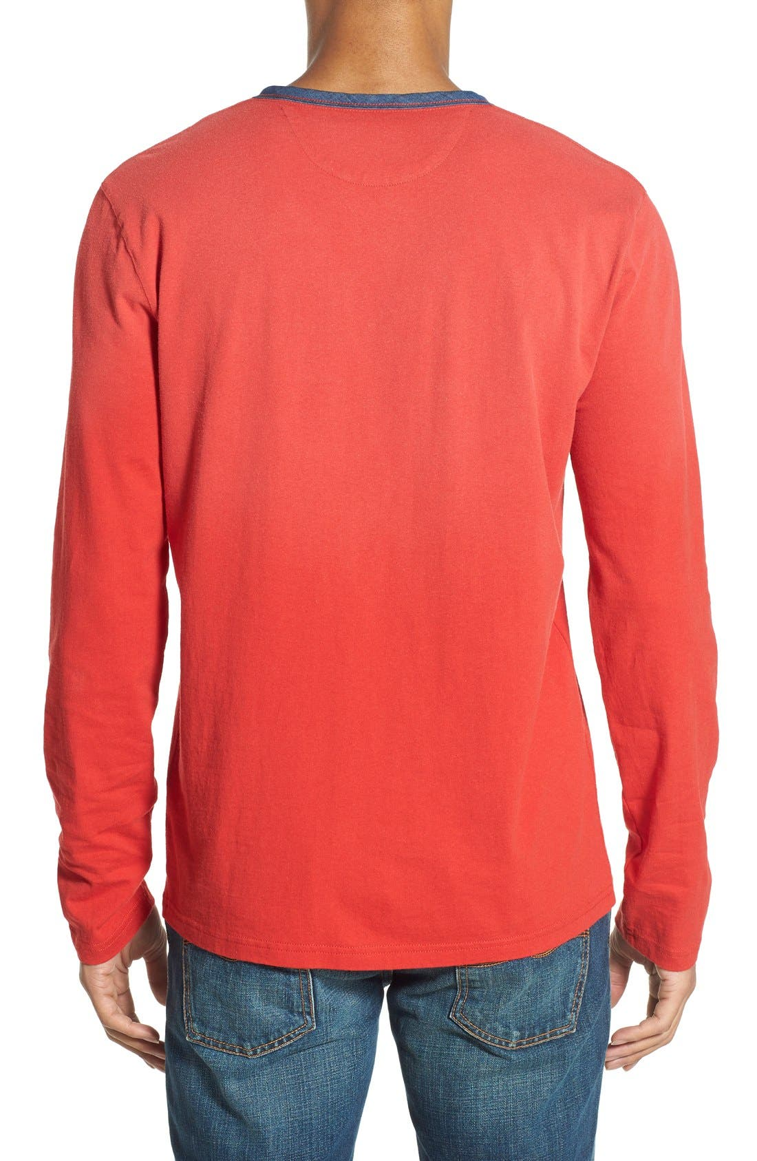 Alternate Image 2  - Lucky Brand 'Fashion' Long Sleeve Henley