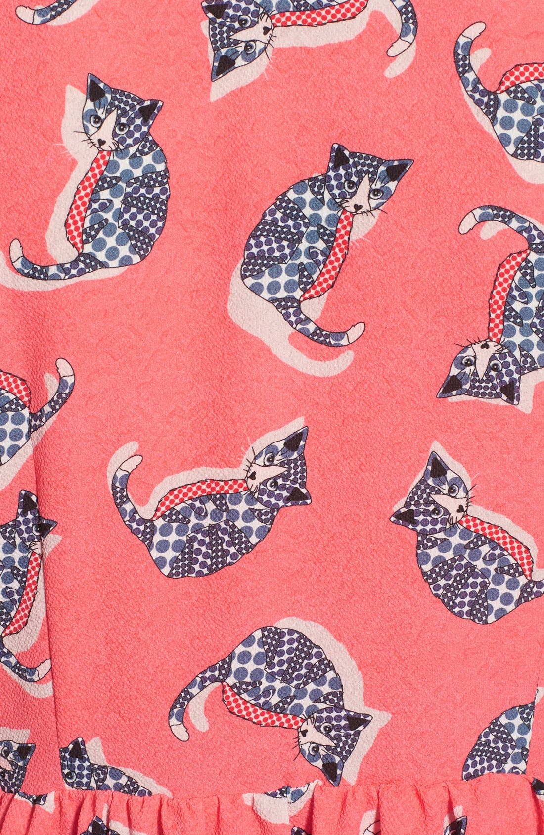 Alternate Image 5  - Paul & Joe Sister 'Pauline' Cat Print Shirtdress
