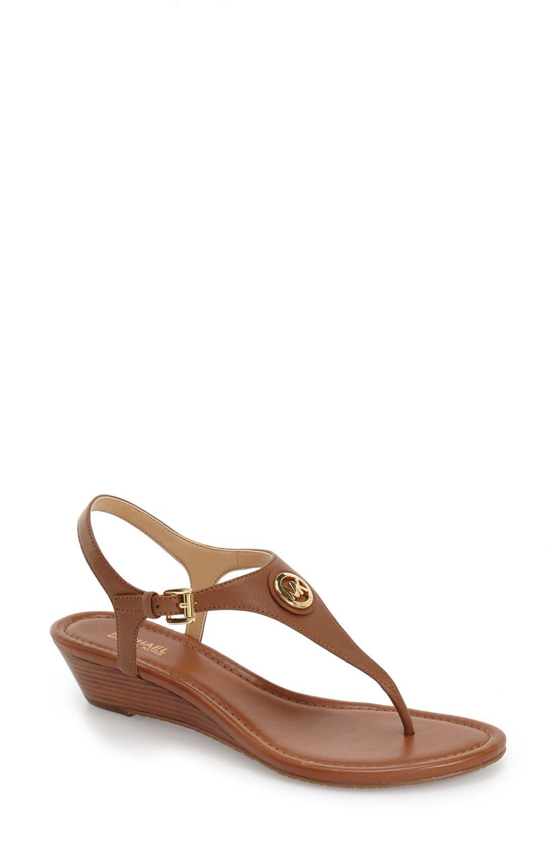 MICHAEL Michael Kors 'Ramona' Wedge Sandal (Women)