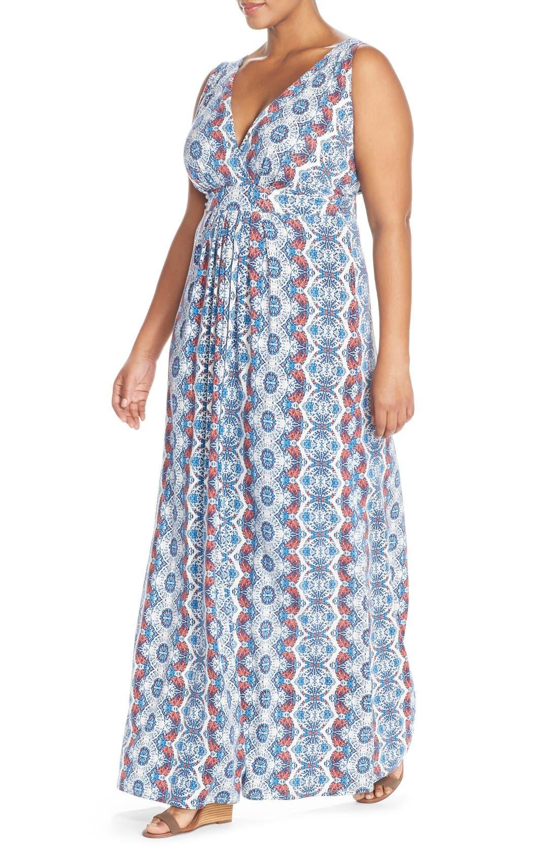 Alternate Image 4  - Tart Chloe Empire Waist Maxi Dress (Plus Size)