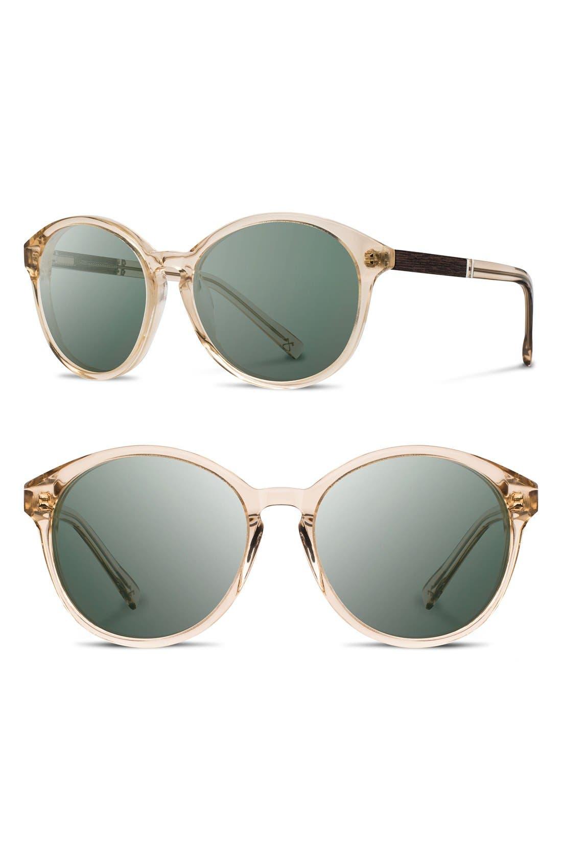 SHWOOD Bailey 53mm Polarized Sunglasses